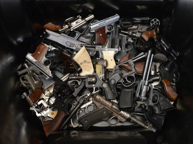 Thousands Of Guns, Swords, Bullets Found Buried At Tokyo School