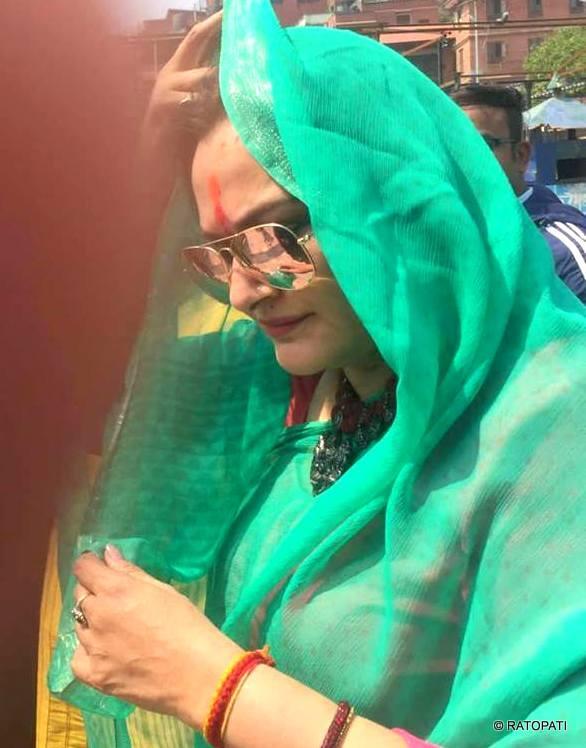 बलिउड अभिनेत्री जया पर्दा नेपालमा, बलिउडमा संघर्ष गर्दा गरेकी थिइन् पशुपतिको भाकल