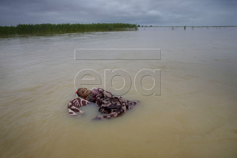 A newborn baby was found dead in Saptari river