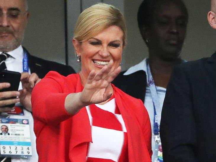 विश्वकपबाट चर्चामा आएकी क्रोएशियाकी राष्ट्रपति कोलिन्दा थिइन् कमान्डो, ८ भाषाकी जानकार