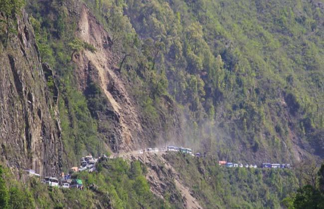Image result for traffic jam thankot nepal