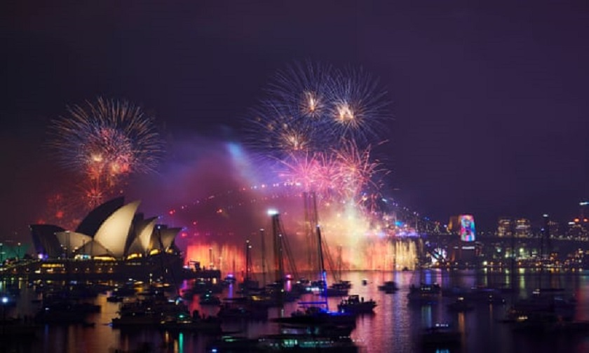 आतिसबाजीसँगै अष्ट्रेलियामा सुरु भयो नयाँ वर्ष २०१९ को काउन्टडाउन