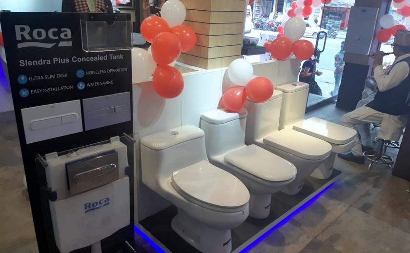 स्पेनको प्रतिष्ठित कम्पनी रोका नेपालमाः बाथरुम सामाग्रीको विक्री सुरु