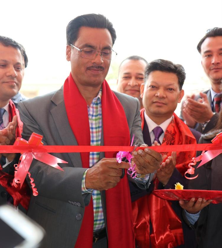 मुक्तिनाथ विकास बैंकको नयाँ शाखा काठमाडौंको ढुङ्गेअड्डामा