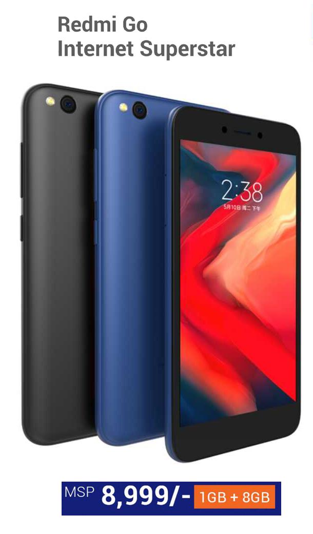 Xiaomi द्वारा  Redmi Go प्रस्तुत – अब मात्र ८ हजार ९९९ मा सुविधायुक्त फोन