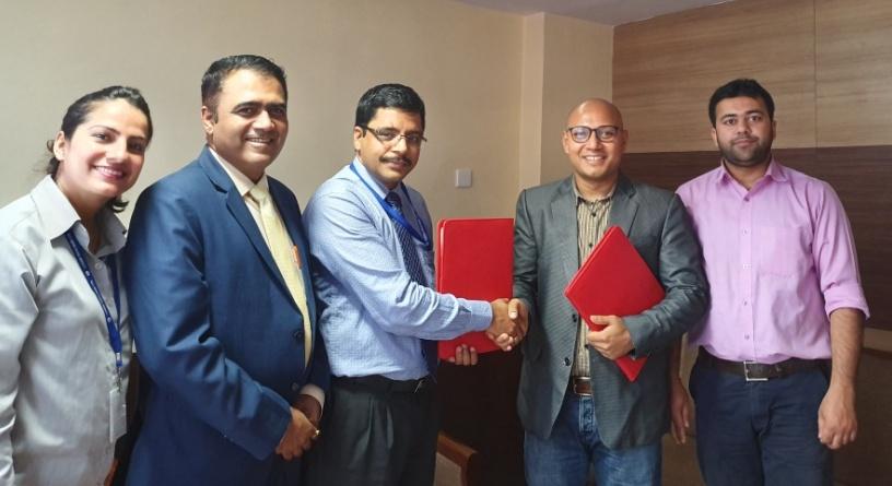 लुम्बिनी विकास बैंक र जिएमई रेमिट बीच विप्रेषण सम्झौता