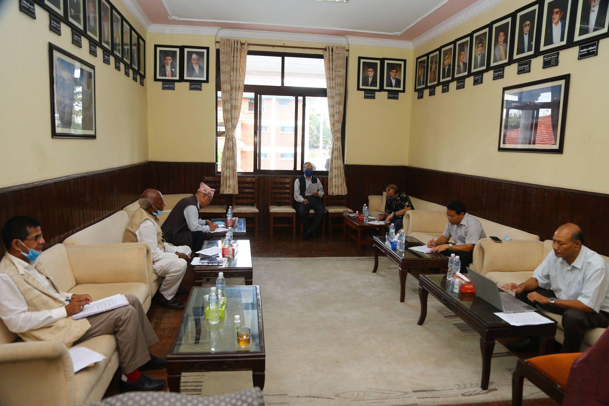 Ruling alliance's task force discusses ministerial portfolio division » Meroshare