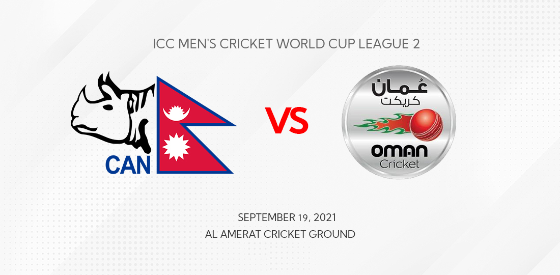 Oman all out for 121, Nepal's KC, Lamichhane claim four wickets each » Meroshare