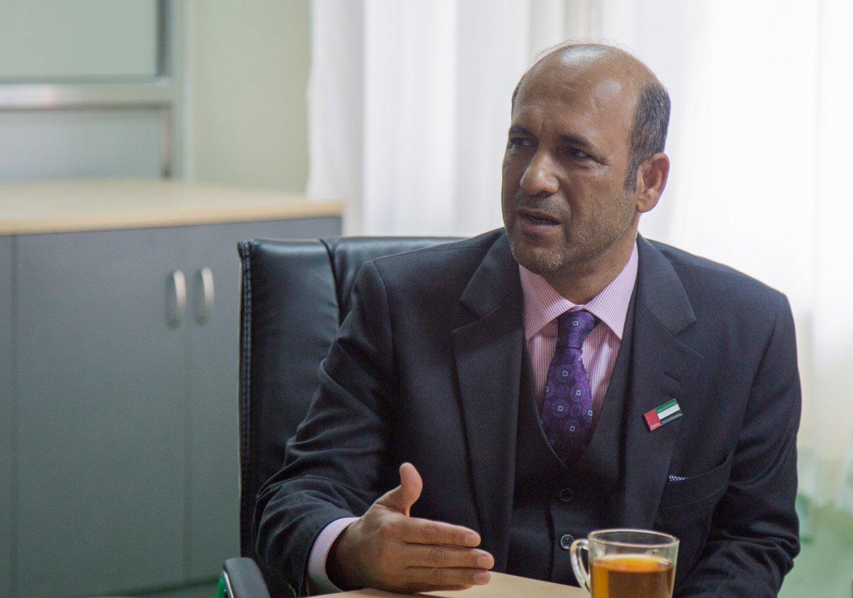 UAE ambassador calls on Energy Minister Bhusal » Meroshare